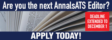 AnnalsATS Editor Search