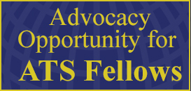 Advocacy Opportunities for ATS Fellows