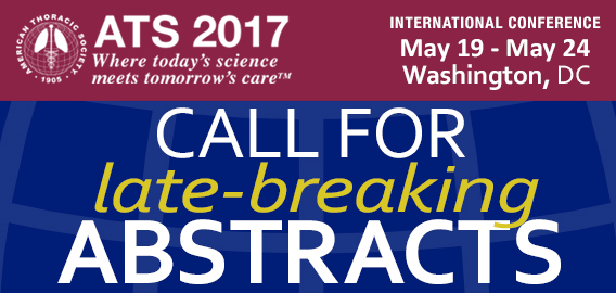 Call for Late Breaking Abstracts