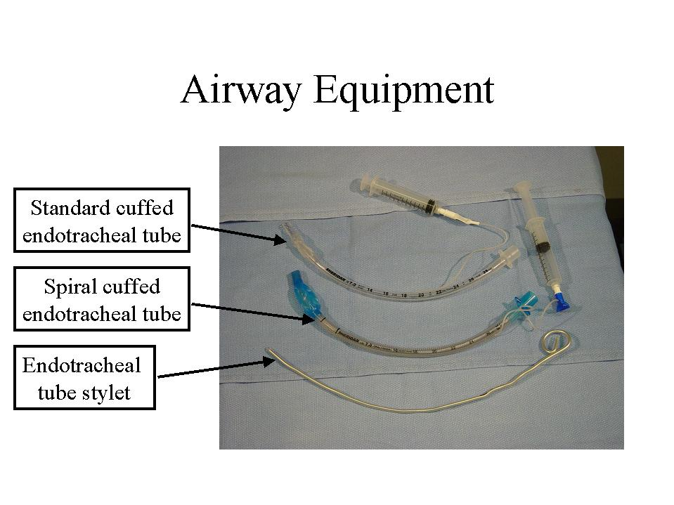 American Thoracic Society Endotracheal Intubation By